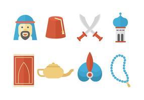 Libere los iconos de Oriente Medio