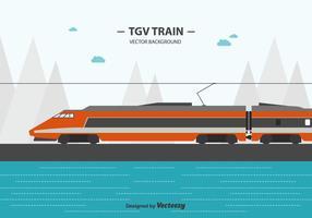 Fondo del tren de Tgv