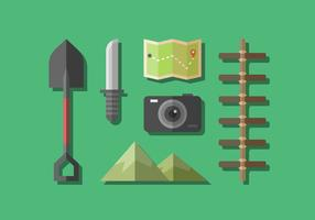 Free Adventure Gear Vector