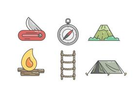 Gratis Adventure Gear Vector