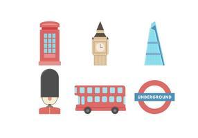 Freie Ikone des London-Vektors