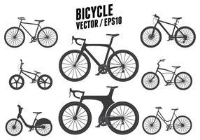 Vector de la bicicleta