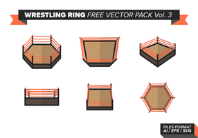 Anillo De Lucha Libre Vector Pack Vol. 3