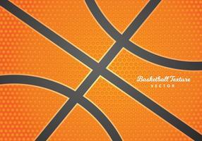 Sfondo di trama di pallacanestro gratis