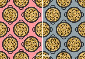 Paella Vector Pattern