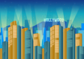 Wallpaper Of Hollywood Lights