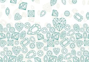 Rhinestone Background Outline Vector