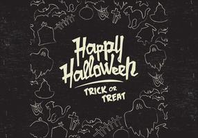Vector Doodle de Halloween