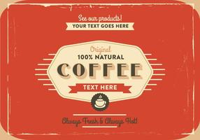 1940's Coffee Logo Vector