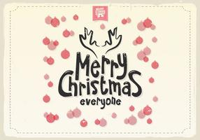 Feliz Natal Ornamentos Vector