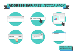 Adresse Bar Free Vector Pack