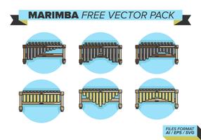 Marimba paquete de vectores gratis