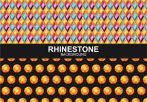 Rhinestone Background Vector