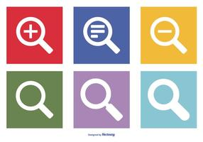 Suche Vector Icon Collection