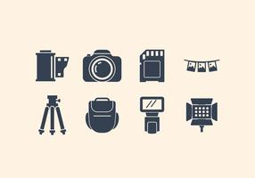 Gratis Camera En Fotografische Pictogram Set