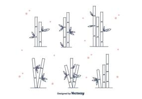 Vector de bambú