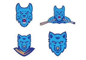 Free Wolves Vector