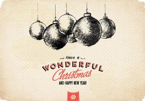 Wonderful-christmas-ornament-vector
