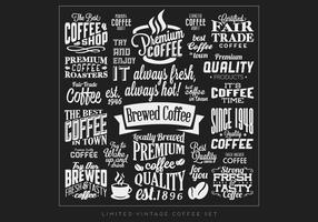 Caffè Logo Collection Vector