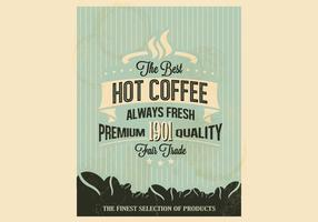 Pinstripe Coffee Vector