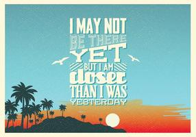 Closer-than-yesterday-vector