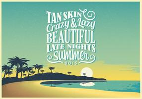Late-night-summer-vector