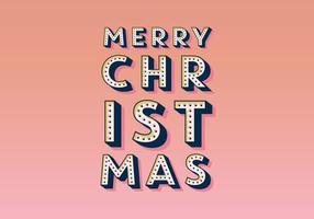 Feliz Navidad carpa Vector