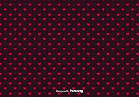 Minimalistic Hearts Vector Pattern