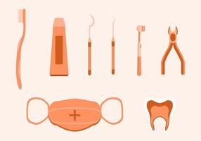 Kostenlose Dentista Vektor