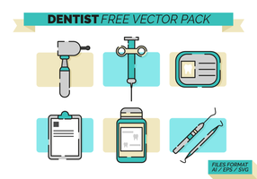 Dentista Gratis Vector Pack