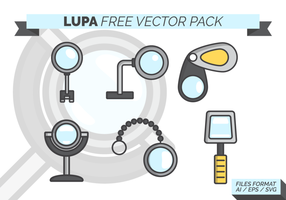 Lupa free vector pack