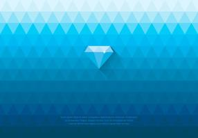 Blue Rhinestone Diamond Background