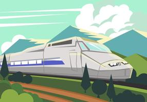Tgv High Speed ​​Train vector