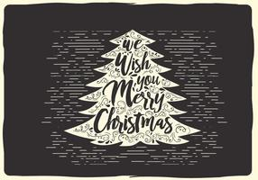 Free Christmas Vector Typography