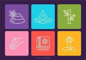 Free Spa Vector Outline Icons