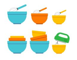 Mixing-bowl-vector-icons