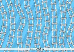 Fondo del vector de la escalera de la cuerda