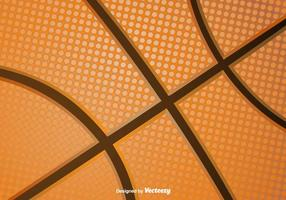 Texture de vecteur de basketball