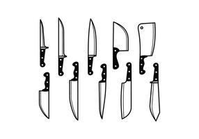 Vector Cuchillo Libre
