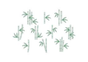 Vector de bambú libre