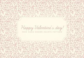 Vector Valentijnsdag Achtergrond