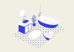 Bathroom-vector-illustration