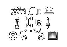 Vecteur de carrosserie auto gratuit