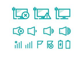 Tecnologia Pc Icon vector
