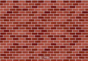 Red Brick Vektor Hintergrund