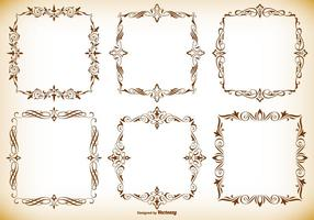 Decorative Frames Collection vector