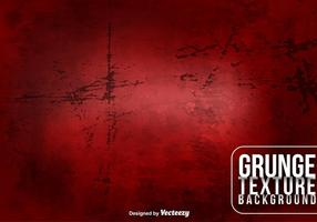 Vector Red Grungy Background