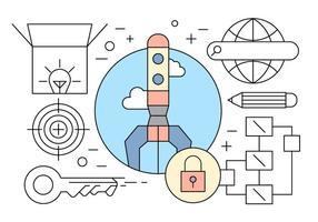 Icônes de l'entrepreneuriat gratuit