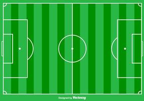 Football Ground Vector Achtergrond