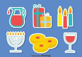 Shabbat Element Vector Set